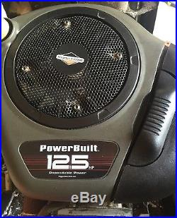 12.5 hp Briggs & Stratton Powerbuilt Riding Lawn Mower Engine 1 Crankshaft