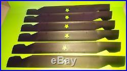 134149 138971 138498 127843 6 PACK CRAFTSMAN 42 OEM Mower Deck Blades