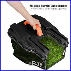 14-Inch 12Amp Lawn Mower withFolding Handle Electric Push Lawn Corded Mower Green