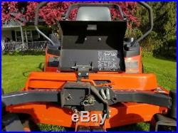 15 Kubota ZD326 Diesel Zero Turn Mower 60'' Pro Deck, 53 Hours Barely Used, Exc
