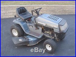 18 HP Yard Machines Riding Lawn Mower With 46 Deck, Runs Good