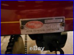 1955 Hiller Yardhand Model 101 Garden Tractor Lawn Mower Antique