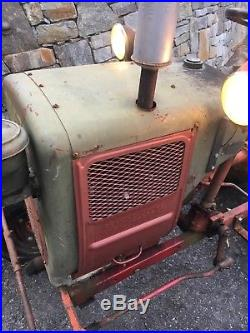 1959 Power King Economy Tractor With Wisconsin TJD Engine and Dual Trans