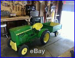 1965 John Deere 110 Lawn Mower Tractor Antique Vintage Parade Round Fender
