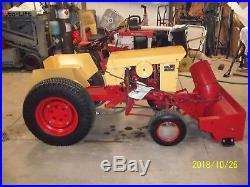 1968 Case 195 Garden Tractor