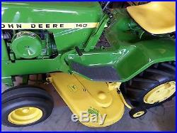1969 John Deere 140 H3 Lawn and Garden Tractor & Mower