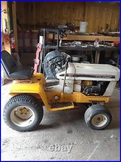 1974 cub cadet riding mower series 129