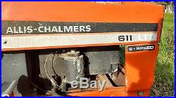 1978 Allis Chalmers 611 lawn mower