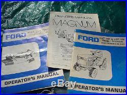 1987 Ford LGT14 Lawn Garden Tractor 14hp Kohler Engine & 4ft Blade & 42 Deck