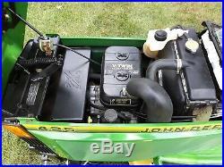 1994 JOHN DEERE 425 garden tractor pwr steer hyd lift 54 mower deck used 556 hr