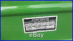 1996 John Deere 325 17 hp Kawasaki 48 cut used lawn mower tractor JD 623 hrs