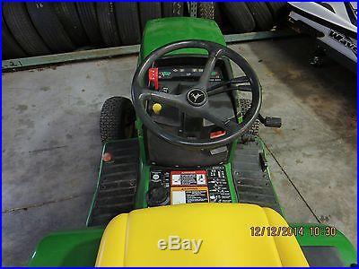 1996 John Deere 425 20hp Gasoline Garden Tractor-Low Hours