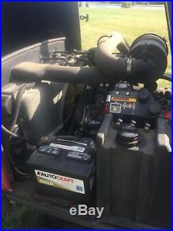 1997 Toro 455-D GroundsMaster 4X4 11' cut mower diesel