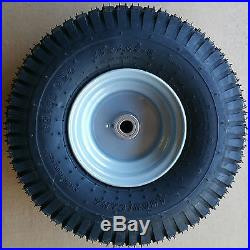 1 15x6.00-6 15x600-6 15/6.00-6 15/600-6 Lawn Mower Tire Rim Wheel Assembly P28