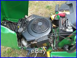 2000 JOHN DEERE LX288 LAWN TRACTOR WITH BAGGER AND 54 INCH MOWER DECK