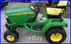 2002 John Deere X485 54 Mower Deck