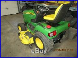 2002 John Deere X495 Diesel Garden Tractor