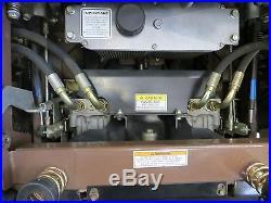 2005 Grasshopper 722D2 Zero Turn Mower with 61 Manual Lift Deck / Kubota Diesel