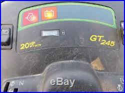 2005 John Deere GT245 Riding Tractor / 48 Deck / 20 hp Kawasaki Engine