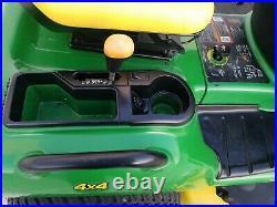 2005 John Deere X595 Diesel 4x4 Tractor with Mower JD 595