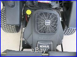 2007 Ariens Zoom Zero Turn Mower with Bagger / 50 Deck / 23 HP Kohler Engine