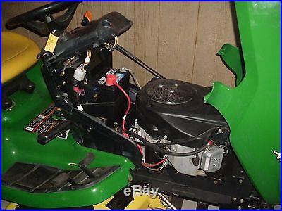 2008 JOHN DEERE X320 LAWN TRACTOR 22HP KAWASAKI 48 DECK VERY NICE CLEAN MACHINE