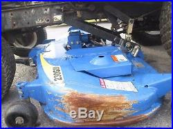 2008 New Holland T1110 HST 4x4 diesel with 60 mower HST PTO used compact tractor
