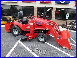 2009 Simplicity Legacy XL Fl500 Loader 54 Mower Deck 4x4 Garden Tractor Clean