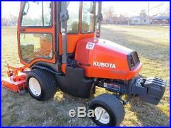 2010 KUBOTA F3080 4WD 60 DIESEL Riding Lawn Mower Tractor f3680 f2680 f3060