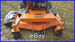 2010 Scag SVR52V-26FX V-Ride Stander Commercial Zero Turn Hydro 26 HP Kawasaki