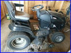 2010 Sears Craftsman Excellerator GT 54 26 HP garden tractor riding lawn mower