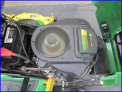 2012 JOHN DEERE X530 54 RIDING LAWN MOWER, GARDEN TRACTOR, POWER STEERING