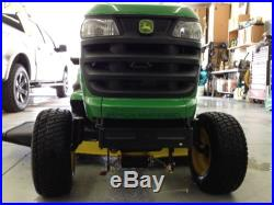 2013 John Deere Tractor X540 Riding Lawn Mower