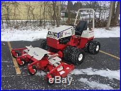 2014 Ventrac 4500Z Compact Tractor with84 Contour Mower Deck