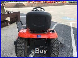 2017 Husqvarna Yth24v48 Lawn Tractor Mower 48 Deck 24 HP Briggs Only 23 Hrs
