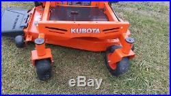 2017 Kubota Z122RKW Zero Turn Hydro Lawn Mower with only 75 hours, 21.5hp Kawasaki