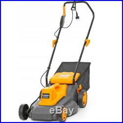 2500W Electric Rotary Lawn Mower Garden Grass Cutter 35L + Accessories