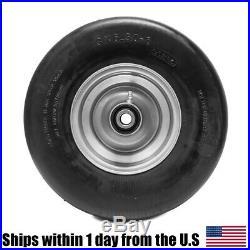 2PK Flat Free Tire Assemblies for Hustler 13x6.50-6 X One Super Z 604898 789537