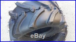 2 18X8.50-10 4P OTR Lawn Trac Tires Lug R-1 R1 PAIR AG 18x8.5-10
