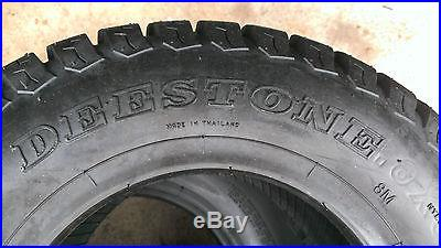 2 18X8.50-8 4 Ply Deestone D838 turf master style Turf Mower Tires
