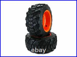 (2) 18x8.50-10 Aggressive Front Wheel Assemblies Fits BX Series Kubota