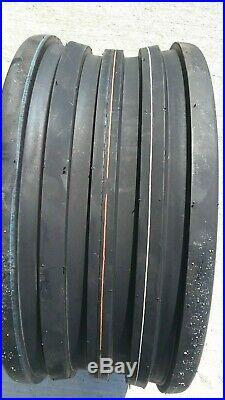 2 18x8.50-8 4-Ply 5-Rib Deep Tubeless Vredestein V61 Tires European Designed