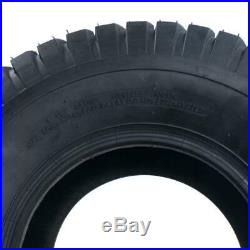 2 18x8.50-8 Lawn Mower Golf Cart Turf Front, Rear Tires SW 8.27 / 210mm