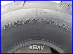 2 20x10.00-8 4P OTR FieldMaster Tires Lug AG PAIR 20x10-8 20x10.0-8