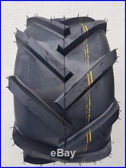 2 20x10.00-8 4P OTR Trac Master Tires Lug AG PAIR 20x10-8 20x10.0-8 Free Ship