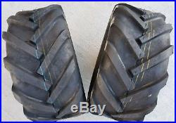 2 23X10.5-12 Deestone 6P Super Lug Tires AG DS5246