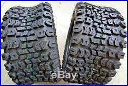 2 23x10.5-12 4 Ply Kenda K502 Terra Trac ATV Turf Mower Tires 1012-4KTT-I