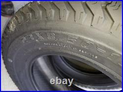 2 23x8.50-12 6 Ply Kenda K500 Super Turf Mower Tires 23x8.5-12 HEAVY DUTY COMM