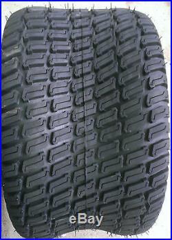 2 24/12-12 6 Ply HEAVY DUTY Deestone D838 Turf Master Lawn Mower Tires FREE