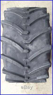 2 24x12.00-12 4P OTR Lawn Trac Tires Lug R-1 R1 PAIR AG 24x12-12 FREE SHIPPING